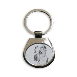 Colección de anillos de claves con imágenes de perros de raza pura, regalo único, sublimación!