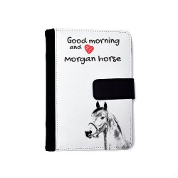 American Paint Horse - Notebook with the calendar of eco-leather with an image of a horse.