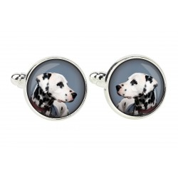 Cufflinks for dog lovers. Photo jewellery. Men's jewellery. Handmade