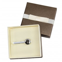 Tie clip with box for dog lovers. Photo jewellery. Men's jewellery. Handmade