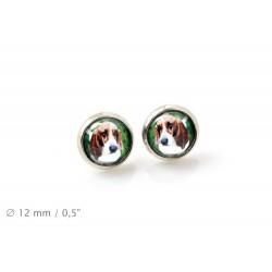 Pet in your ear. Earrings. Photojewelry. Handmade.