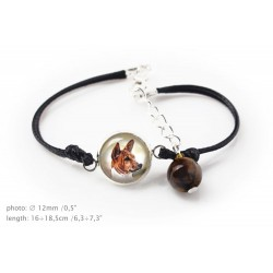 Bracelet for people who love dogs. Photojewelry. Handmade.