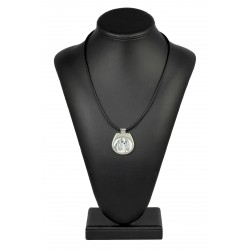 collection of necklaces with images of purebred dogs, unique gift, sublimation