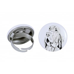 Ring with a dog