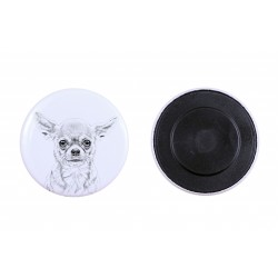 Magnet with a dog