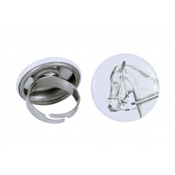 Ring with a horse