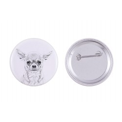 Buttons with a dog