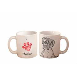 "Mug with a dog. ""I love ..."""