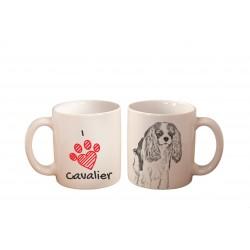 """Mug with a dog. """"I love ..."""""""