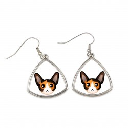 Earrings with cat. A new collection with the cute Art-dog cat