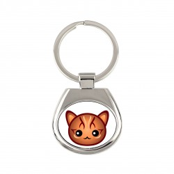 A keyring with cat. A new collection with the cute Art-dog cat