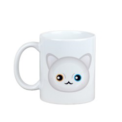 A mug with cat. A new collection with the cute Art-dog cat