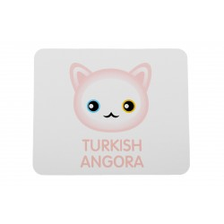A mousepad with cat. A new collection with the cute Art-dog cat