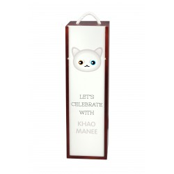 Wine box with cat. A new collection with the cute Art-dog cat