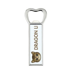 A bottle opener with cat. A new collection with the cute Art-dog cat